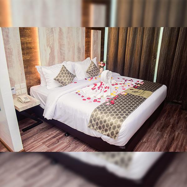 dulexe queen room